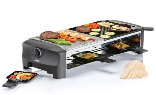 raclette hei er stein thermostat petra rc steingrillplatte racletteger t ebay. Black Bedroom Furniture Sets. Home Design Ideas