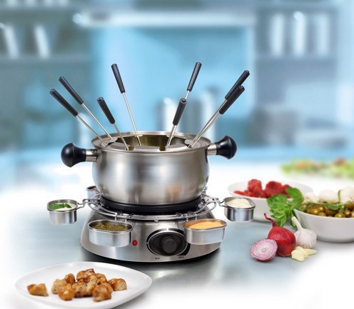 fondue set elektrisch fondueset 1300 watt neu ovp ebay. Black Bedroom Furniture Sets. Home Design Ideas