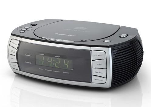 design radiowecker mit cd player neu audiosonic cl 1563 stereo uhrenradio ebay. Black Bedroom Furniture Sets. Home Design Ideas