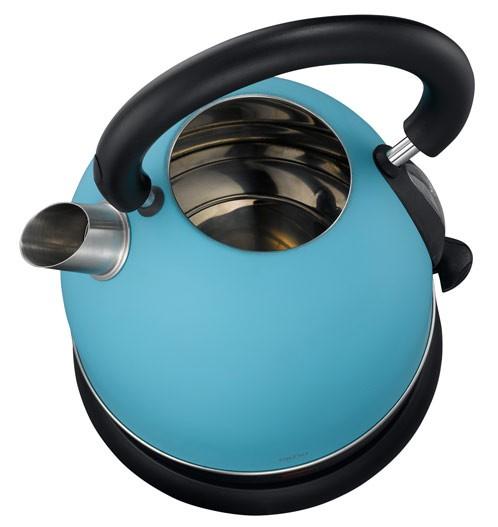 British Style Wasserkocher blau Exido 12130058  ~ Wasserkocher Blau